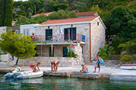 Vacation Family House Frana Mljet